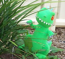 Reptar in the Garden by RebelPhotograph
