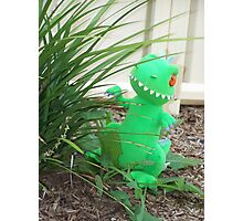 Reptar in the Garden Photographic Print