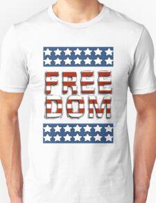 Freedom - Stars and Stripes Unisex T-Shirt