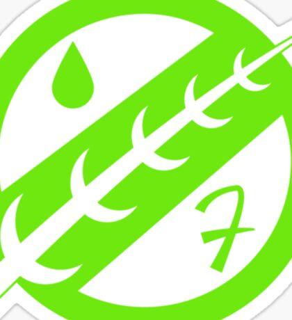 Minimal Fett Logo Sticker
