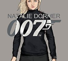 Natalie Dormer is Bond - Coloured Edition by RabidDog008