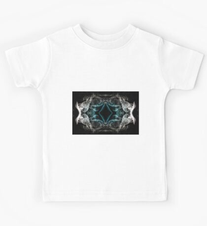 Cool Abstract Ghost From The Past Kids Tee