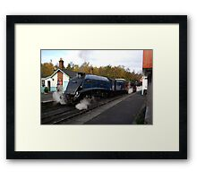 Steam at Grosmont  - North Yorks. Framed Print