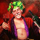 King for a day... (Bacchus in love) by Janne Kearney