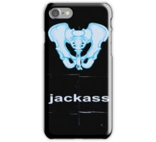 Minimalist Jackass Movie Poster iPhone Case/Skin