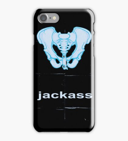 Minimalist Jackass Movie Poster iPhone Case/Skin
