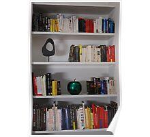 Bookcase - Colour Sorted Books Poster