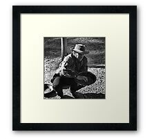The Technique of Panning Framed Print