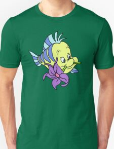 Flounder with a Flower Unisex T-Shirt