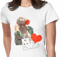 Ice Cold Cocktail Gran Womens Fitted T-Shirt