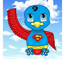 Superman Bird Photographic Print