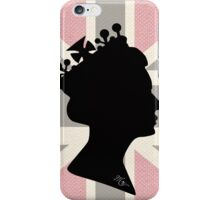 GOD SAVE THE QUEEN! (PINK) iPhone Case/Skin