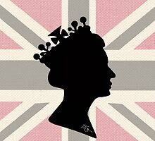 GOD SAVE THE QUEEN! (PINK) by KingsCourt