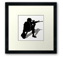 Music Soldier Framed Print