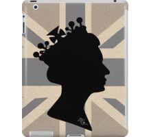 GOD SAVE THE QUEEN! (GREY) iPad Case/Skin