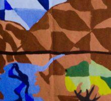 Mosaic landscape  Sticker