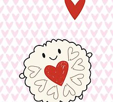 Jammie Dodger Biscuit by Marceline Smith