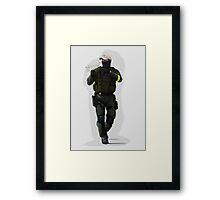 Soldier CS:GO Framed Print