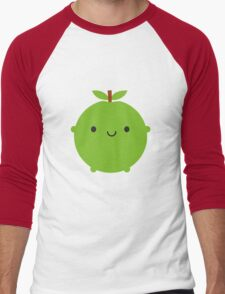 Kawaii Apple Men's Baseball ¾ T-Shirt