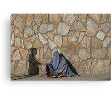 Two ghosts in Kabul, Afghanistan Canvas Print