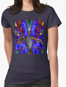 SILVER WARRIOR Womens Fitted T-Shirt