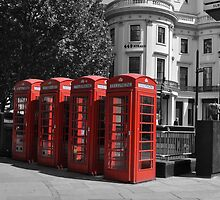 London Red by Margaret Chilinski