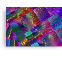 Colors & Flowers & Abstract. Canvas Print