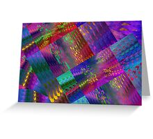Colors & Flowers & Abstract. Greeting Card