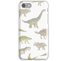 Dinosaur Pattern iPhone Case/Skin