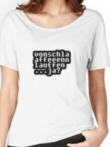 a phrase of sorts...ja? Women's Relaxed Fit T-Shirt