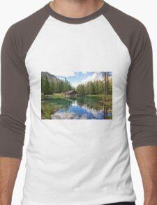Lake Ghedina Men's Baseball ¾ T-Shirt