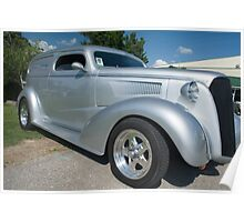 1937 Chevy Panel Truck Poster