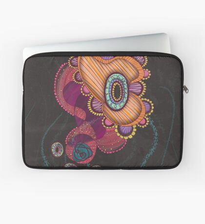 Jellyfish, Night Laptop Sleeve
