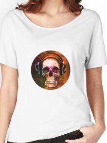 Music Skull Women's Relaxed Fit T-Shirt