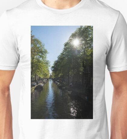 Amsterdam Spring - Green, Sunny and Beautiful Unisex T-Shirt
