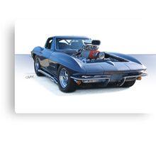 1964 Corvette 'Pro Street' Stingray Canvas Print