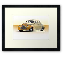 1941 Chevrolet Special Deluxe Coupe Framed Print