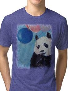 Panda Party Tri-blend T-Shirt