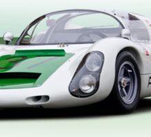 1967 Porsche 910 FIA Racecar Sticker