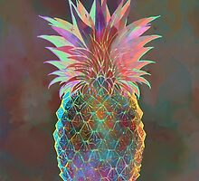 Trippy pineapple by rdigmon12