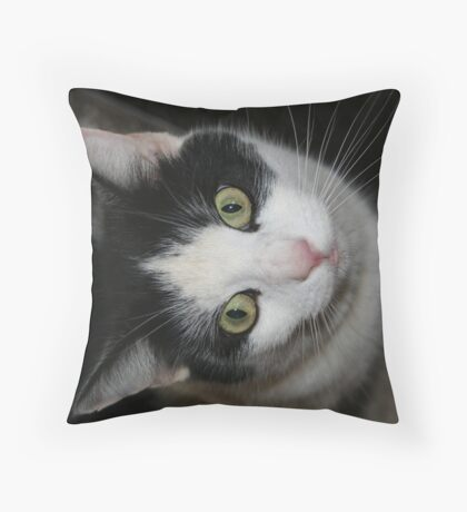 Hello Up There Throw Pillow
