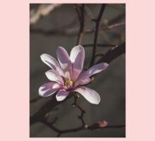 Sunny Pink Magnolia Blossom Kids Tee