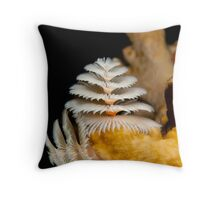 Christmas Tree Worms Throw Pillow