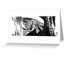 Alien Xenomorph 2 Greeting Card