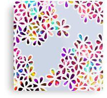 Multi-Colored Petal Flowers Metal Print