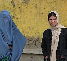 Present and future. Stop the Burqa! by Amador Guallar Perez