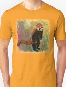 Red Panda Balloon T-Shirt