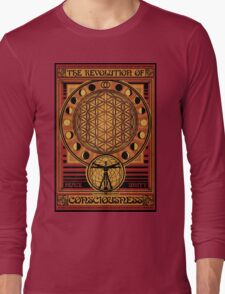 The Revolution of Consciousness | Vintage Propaganda Poster Long Sleeve T-Shirt
