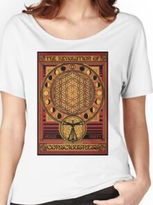 The Revolution of Consciousness | Vintage Propaganda Poster Women's Relaxed Fit T-Shirt