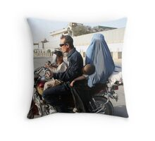 Ride to hell. Stop the burqa! Throw Pillow